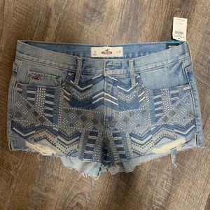 Hollister high rise shorts 9